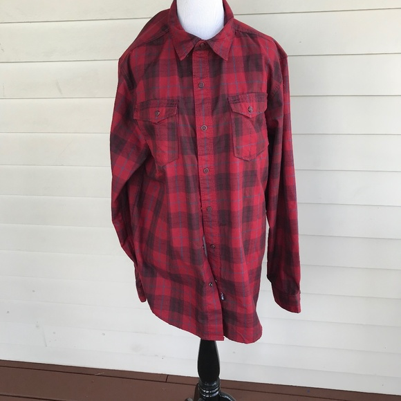 The North Face Other - Men's The North Face Red Plaid Flannel Shirt